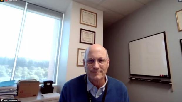 Dr. Peter Johannet Receives Community Preceptor Award